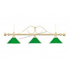 Lamp Classic, green, 3 Bells